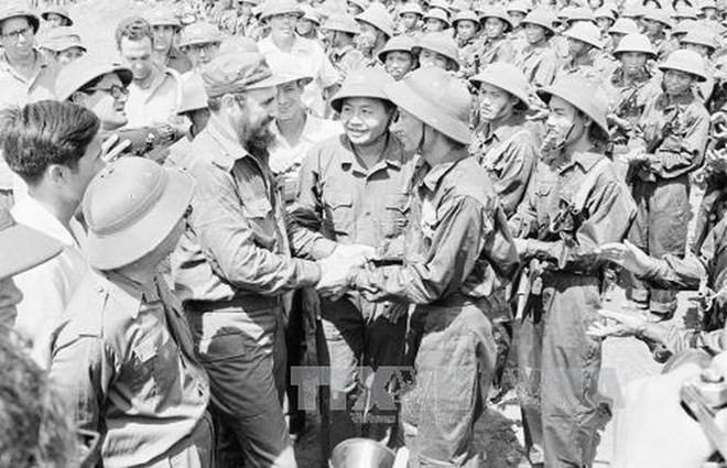 Kuba memperingati  ultah  ke-45 Hari kunjungan bersejarah  Pemimpin Fidel di Viet Nam - ảnh 1