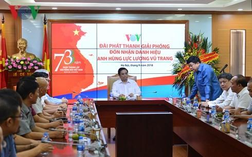 Kepala Departemen Organisasi KS PKV, Pham Minh Chinh: VOV  perlu menghargai pekerjaan mendidik SDM - ảnh 1