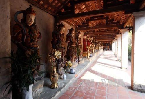 Pagoda Nom-tempat melestarikan  selar kebudayaan Viet Nam - ảnh 5