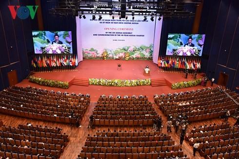 Pembukaan Kongres  ASOSAI 14 di Kota Ha Noi - ảnh 1
