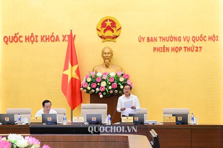 Komite Tetap MN Viet Nam: Pengawasan tematik dan interpelasi di persidangan MN - ảnh 1