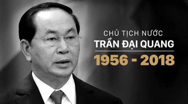 Pers internasional  secara serempak memberitakan wafatnya Presiden Viet Nam, Tran Dai Quang - ảnh 1