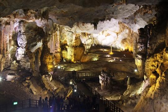 Taman Nasional Phong Nha-Ke Bang- destinasi yang menarik bagi para wisatawan - ảnh 5
