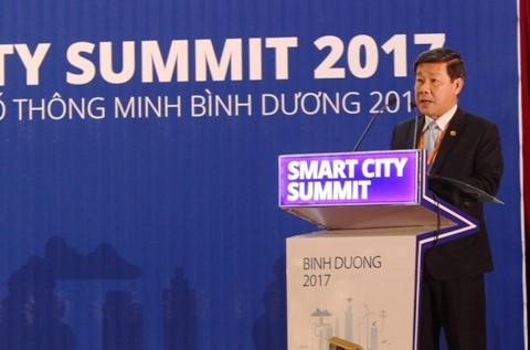 Binh Duong  mengarah ke  target menjadi kota pintar - ảnh 1