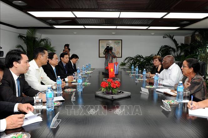 Kuba  percaya  pada potensi perkembangan hubungan kerjasama  dengan Viet Nam - ảnh 1
