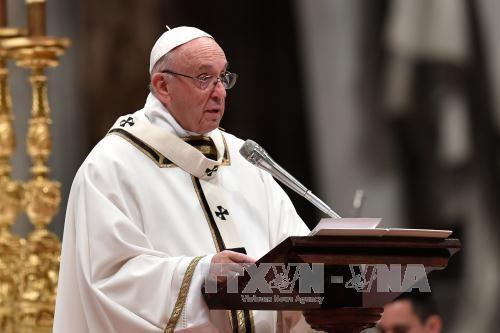 Pemimpin RDRK mengundang Paus  Franciskus  untuk mengunjungi Pyong Yang - ảnh 1