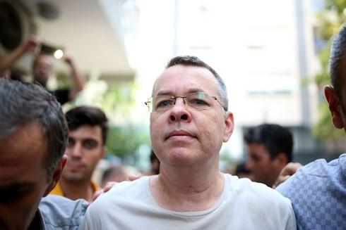 Turki dan  AS menutup dokumen pastor A.Brunson - ảnh 1