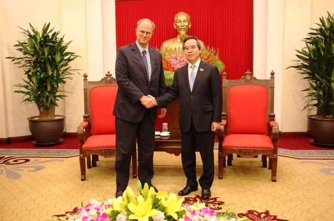 Jerman menghargai hubungan persahabatan tradisional dan kerjasama di banyak segi dengan Viet Nam - ảnh 1