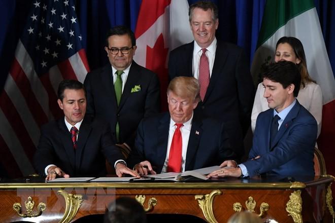 AS, Kanada dan Meksiko  menjunjung tinggi  makna pentingnya USMCA - ảnh 1