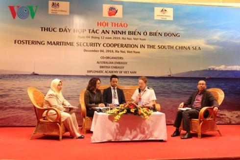 "Pembukaan lokakarya: ""Mendorong  kerja sama keamanan  laut di Laut Timur"" - ảnh 1"