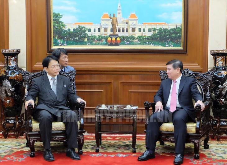 Memperhebat kerja sama antara kota Ho Chi Minh dan Provinsi Aichi, Jepang - ảnh 1