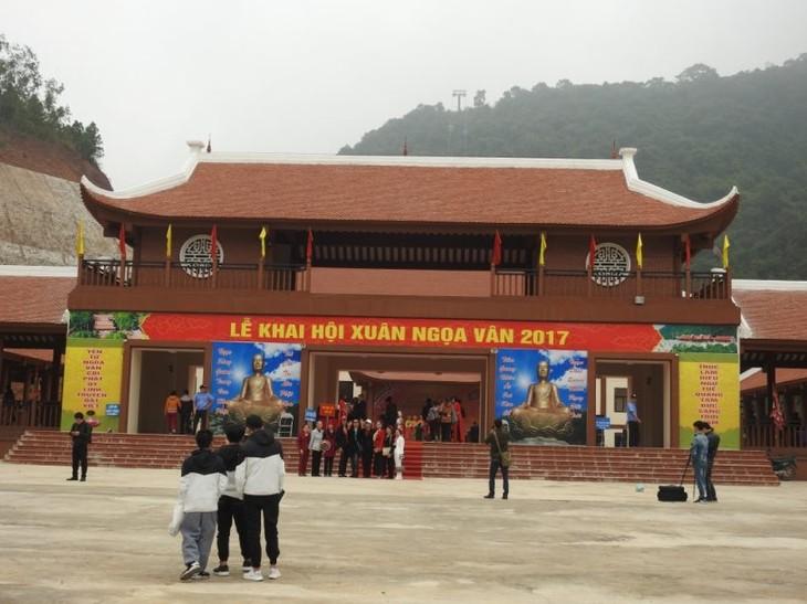 Kompleks situs peninggalan sejarah Ngoa Van-Jantung-nya  dari mazhab Buddha Truc Lam Yen Tu - ảnh 1