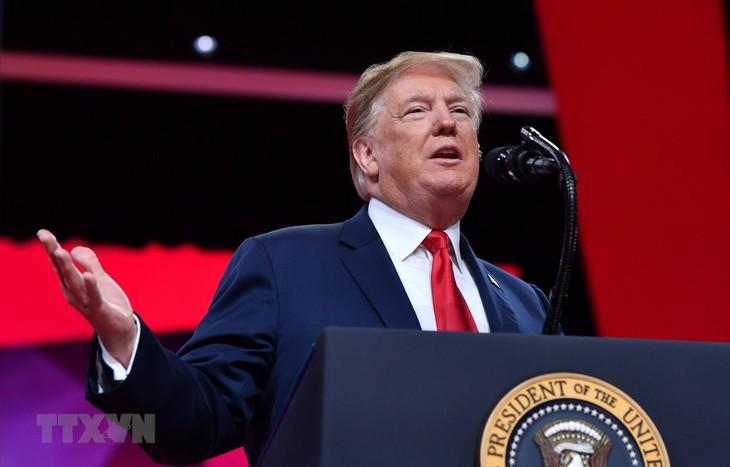 Presiden AS menyatakan akan memveto RUU  tentang penghentian situasi darurat nasional - ảnh 1