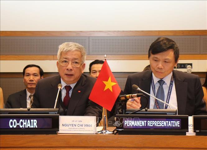 Viet Nam berseru kepada komunitas internasional supaya bersinergi mengatasi akibat perang demi perdamaian dan perkembangan yang berkesinambungan - ảnh 1