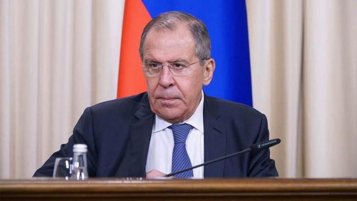 Menlu Rusia mencela pernyataan AS tentang Dataran Tinggi Golan - ảnh 1