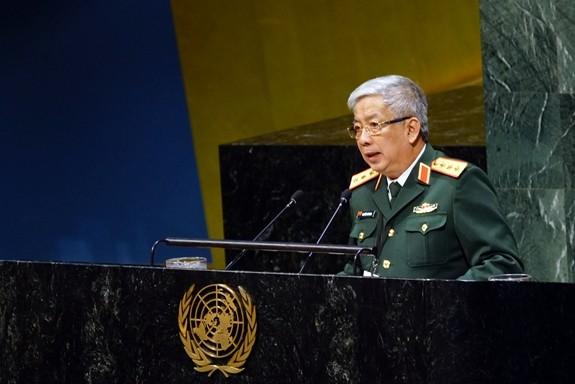 Viet Nam menegaskan komitmen  aktif berpartisipasi pada aktivitas-aktivitas demi perdamian PBB - ảnh 1