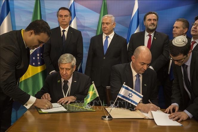 Palestina memprotes Brasil yang membuka  kantor diplomatik di Yerusalem - ảnh 1