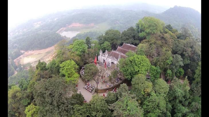 Kuil Raja Hung-tempat perhimpunnya nilai-nilai kebudayaan spiritualitas dari bangsa Viet Nam - ảnh 1