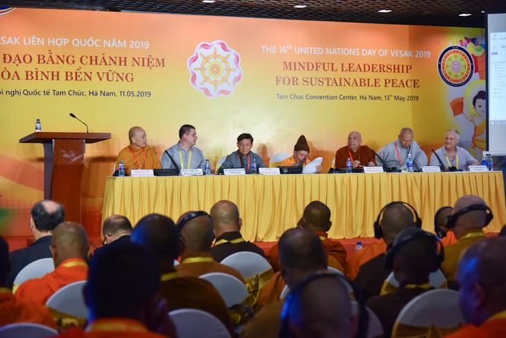 Hari Waisak PBB 2019 : Memperdalam  lebih lanjut lagi sifat filosofi dan keunggulan moral  agama Buddha - ảnh 1
