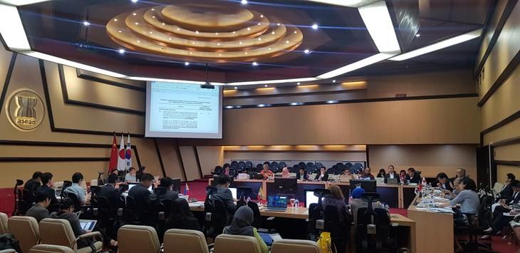 Tiongkok, Jepang dan Republik Korea berkomitmen terus memprioritaskan  sumber  daya  untuk membantu ASEAN - ảnh 1
