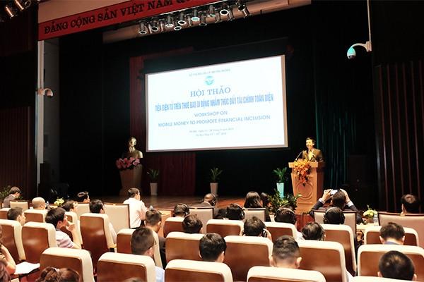 """Arah penggelaran  """"mobile  money"""" untuk mendorong  keuangan  menyeluruh di Viet Nam - ảnh 1"""