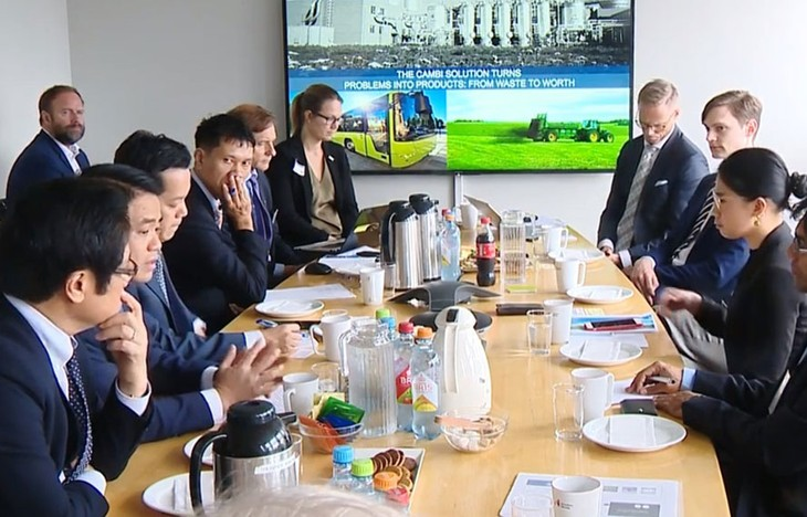 Badan usaha  Norwegia  ingin bekerjasama dengan Kota Ha Noi  tentang pembangunan kota pintar - ảnh 1