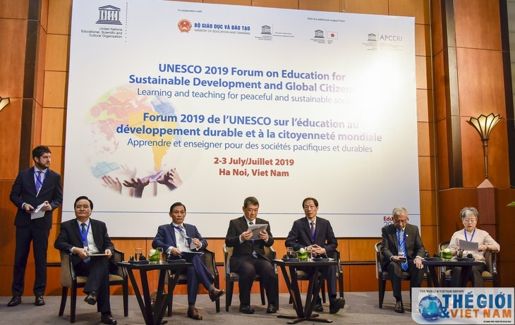 Forum : Pendidikan demi perkembangan  yang berkelanjutan dan Warga Negara global dari UNESCO 2019 - ảnh 1