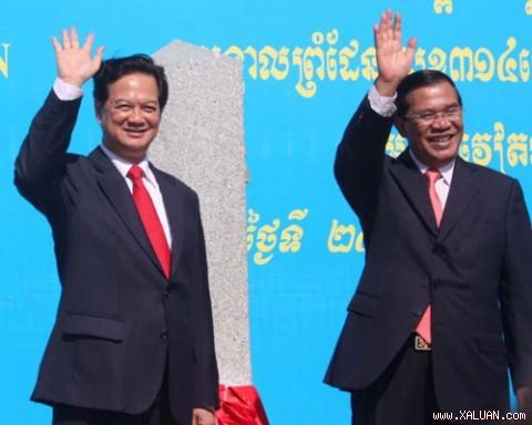 Confirmer la solidarité Vietnam-Cambodge - ảnh 1
