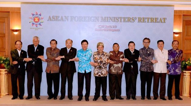 Ouverture de la conférence des hauts officiels de l'ASEAN - ảnh 1