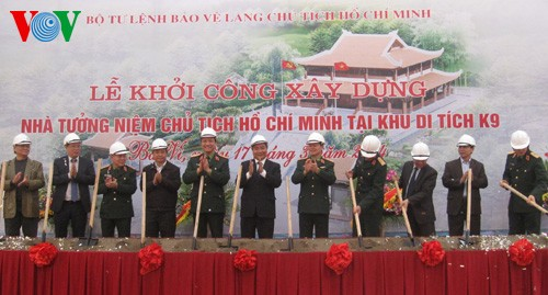 Groundbreaking for President Ho Chi Minh Monument in Ba Vi  - ảnh 1