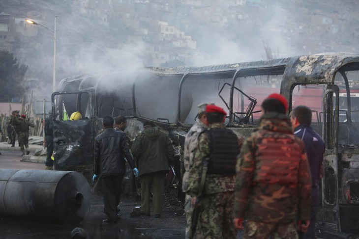 At least 19 people killed in a series of attacks in Afghanistan  - ảnh 1