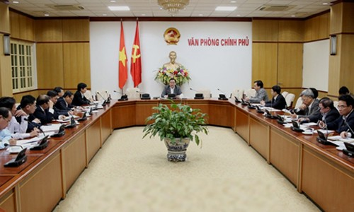 Deputy Prime Minister Hoang Trung Hai works with Ninh Thuan leaders - ảnh 1