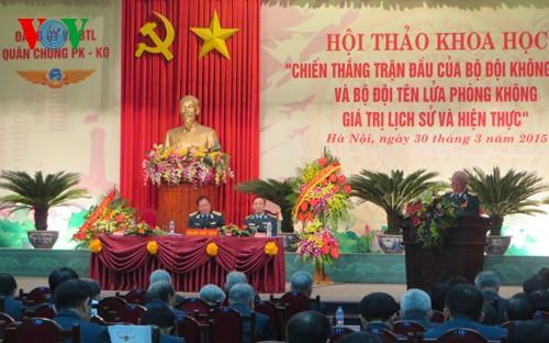 60th anniversary of the Vietnamese Air Force - ảnh 1