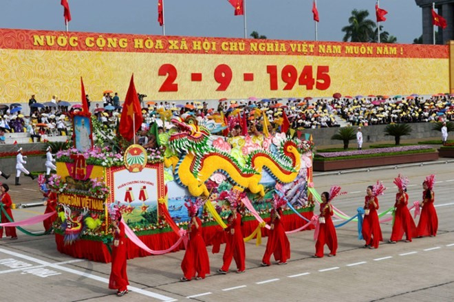 Congratulatory messages on Vietnam's 70th National Day - ảnh 1