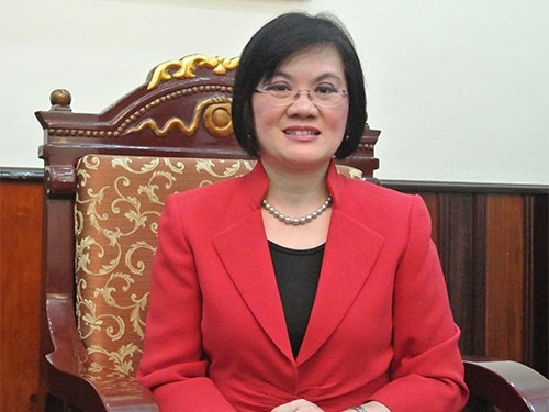 Deputy PM Minh's spouse receives ambassadors' to China - ảnh 1