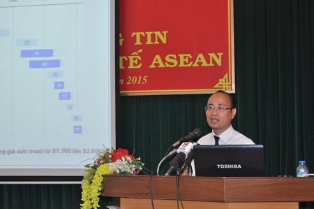 Update southern media agencies on ASEAN Economic Community - ảnh 1
