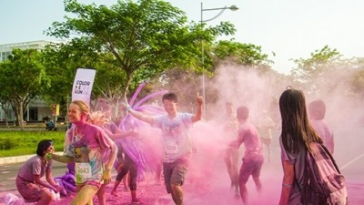 """Color Me Run"", a fantastic sports event  - ảnh 1"