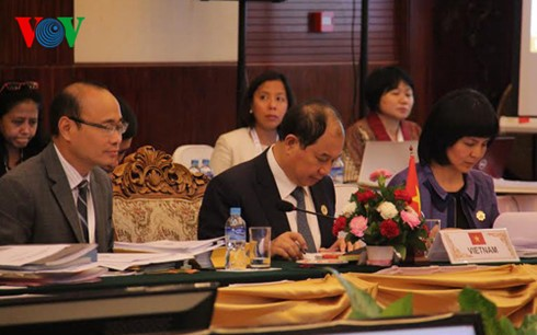 ASEAN enhances cooperation with its partners  - ảnh 1