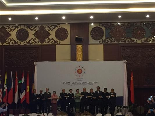 ASEAN Economic Ministers consult with US, China - ảnh 1