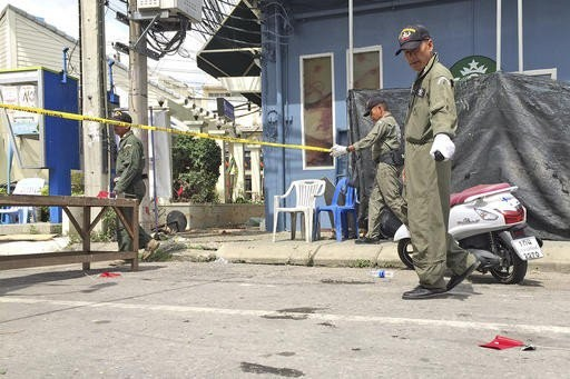 Thai police identify one mastermind of bombings - ảnh 1
