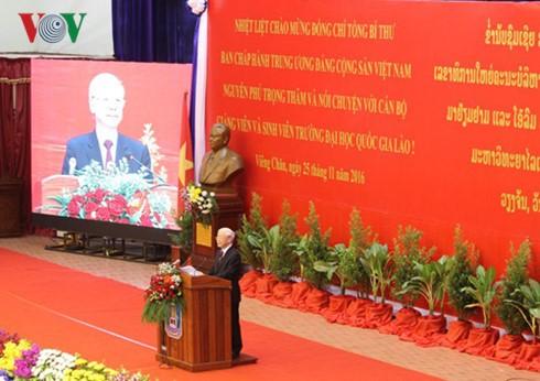 Enhancing Vietnam-Laos education cooperation - ảnh 1