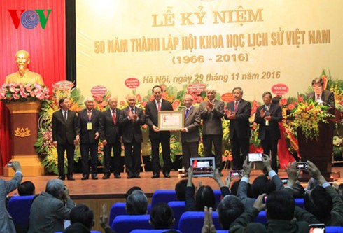 State President attends 50th anniversary of Vietnam History of Science Association - ảnh 1