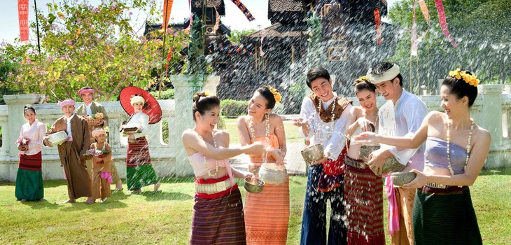 Traditional New Year Festivals of Cambodia, Laos, Myanmar, Thailand in Ho Chi Minh City - ảnh 1
