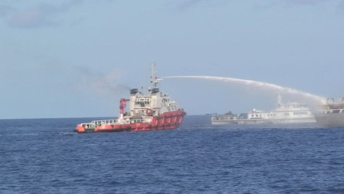 Vietnamese, international public denounce China's deployment of oil rig in Vietnam's waters  - ảnh 1