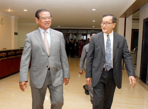 Cambodia: CPP, CNRP discuss revision of Election Law  - ảnh 1