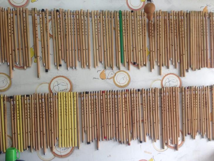 The Vietnamese Bamboo Flute