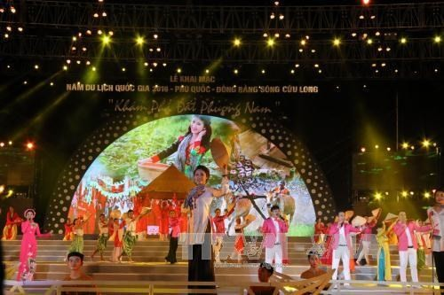 2016 National Tourism Year opens on Phu Quoc - ảnh 1