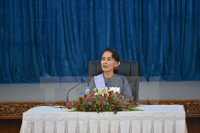 Myanmar's NLD leaves open a referendum on new constitution - ảnh 1