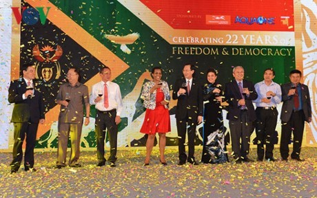 South Africa celebrates 22nd National Day - ảnh 1