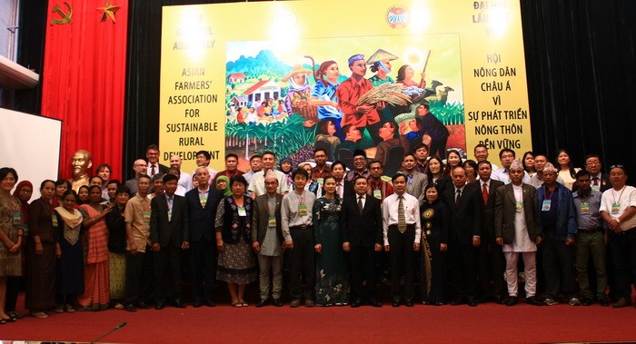 Vietnam hosts 7th general assembly of Asian Farmers' Association - ảnh 1